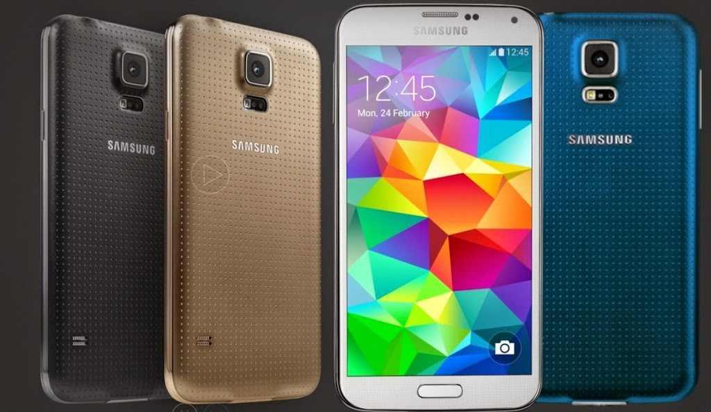Samsung Galaxy S5 ominaisuudet